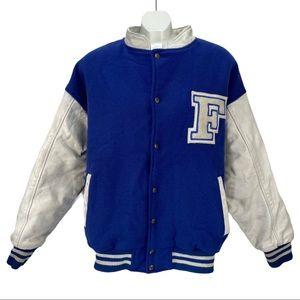 Vintage Ford MPM Bomber Varsity Style Jacket